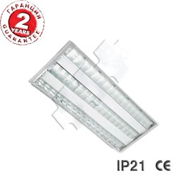 LED luminaire IP21 2x18W VG