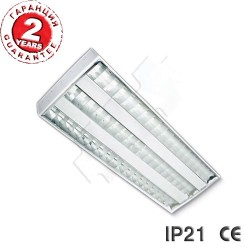 LED luminaire IP21 2x18W OM