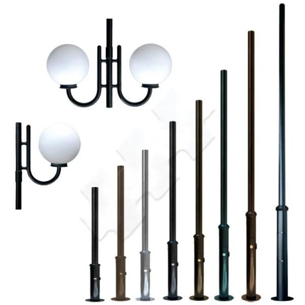 pillar for park lighting